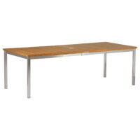 Barlow Tyrie Equinox Extension Dining Table