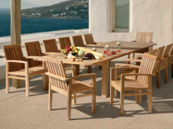 Barlow Tyrie Apex 14 Seat Dining Set