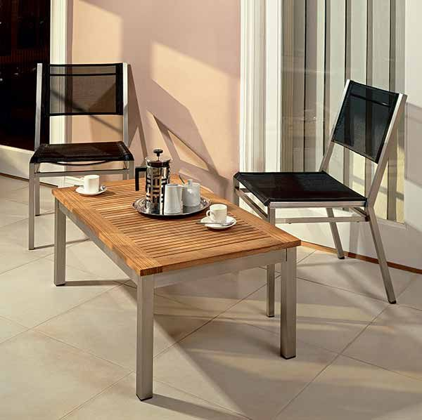Barlow Tyrie Equinox Dining Side Chair Sling
