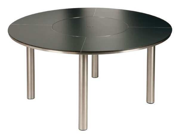 """Barlow Tyrie Equinox 59"""" Dining Table w/Laminate Top"""