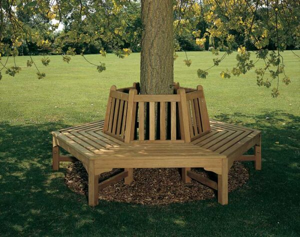 Barlow Tyrie Glenham Hexagonal Tree Bench