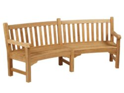 Barlow Tyrie Glenham Curved Bench