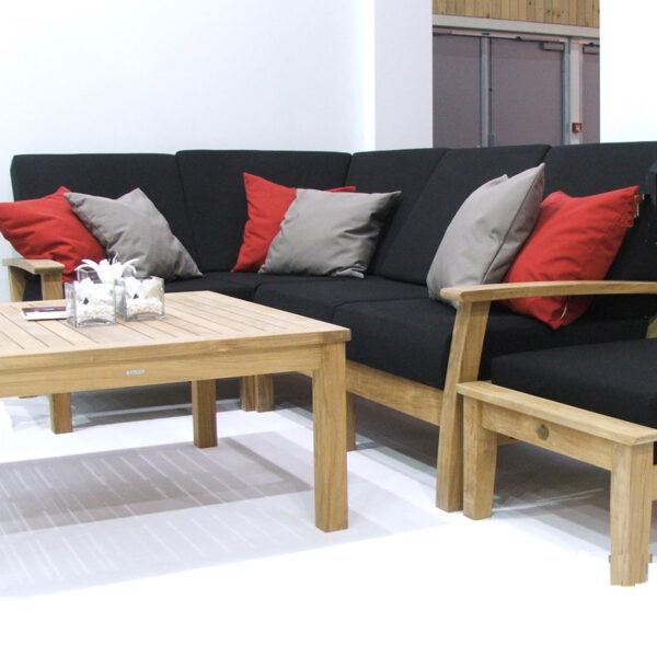 """Barlow Tyrie Haven 39"""" Conversation Table"""