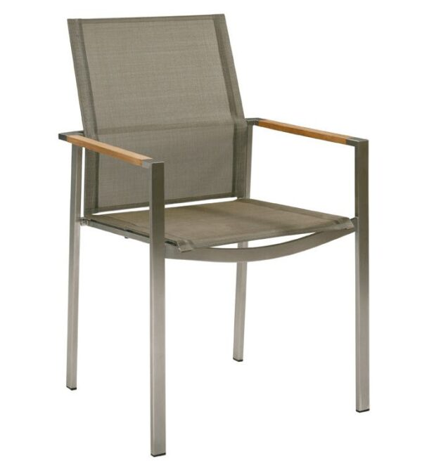 Barlow Tyrie Mercury Stacking Armchair
