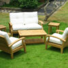 Douglas Nance Cayman 4 Seat Lounge Set