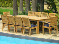Cayman 10 Seat Dining Set