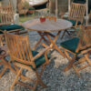Barlow Tyrie Ascot 4 Seat Dining Set