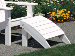 Seaside Casual Adirondack Foot Stool XX028