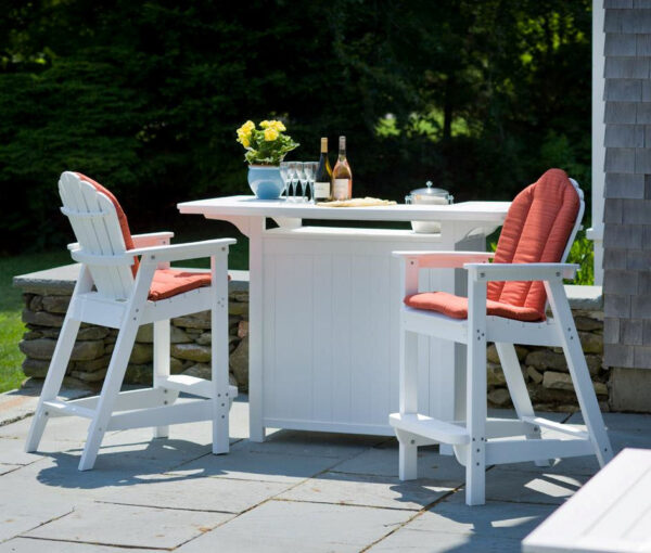 Seaside Casual Classic Adirondack Bar Chair XX061