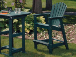 Seaside Casual Shellback Adirondack Bar Chair XX060