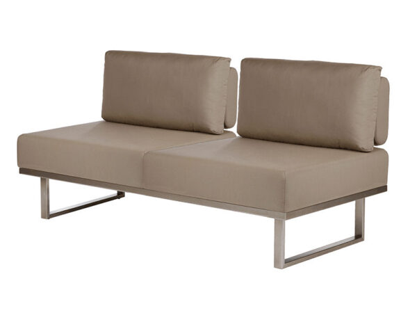 Barlow Tyrie Mercury Deep Seating Couch Without Arms 1MEDB2