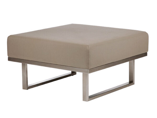 Barlow Tyrie Mercury Deep Seating Ottoman 1MEDO
