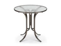 """Telescope Casual Glass Top 42"""" Bar Height Table 279X"""