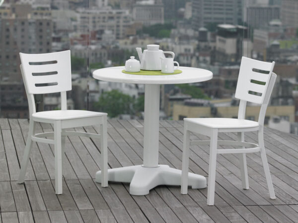 Telescope Casual Avant MGP Aluminum Stacking Chair