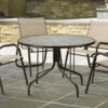 Telescope Casual Glass Top Table Collection