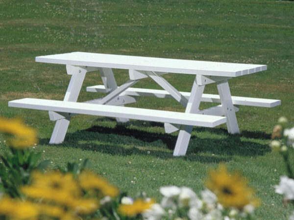 Seaside Casual Traditional Picnic Table XX043