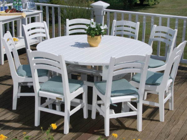 "Seaside Casual Salem 60"" Dining Table XX059"