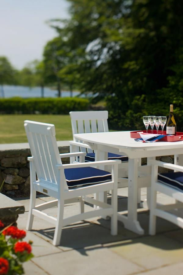 """Seaside Casual Portsmouth 42"""" Dining Table XX049"""