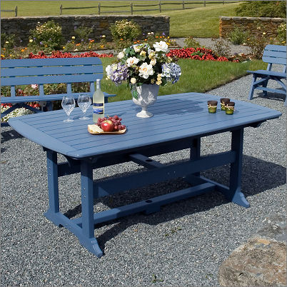 """Seaside Casual Portsmouth 42"""" x 72"""" Dining Table XX052"""