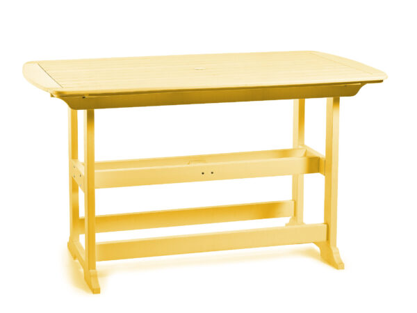 "Seaside Casual Portsmouth 72"" Bar Table XX086"