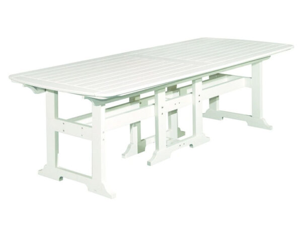 """Seaside Casual Portsmouth 42"""" x 100"""" Dining Table XX096"""