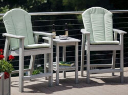 Seaside Casual Westerly Balcony End Table XX027