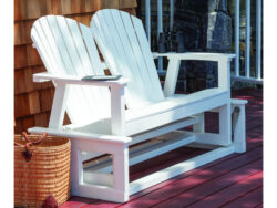 Seaside Casual Shellback Adirondack Glider