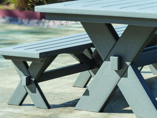 Seaside Casual Sonoma Dining Bench