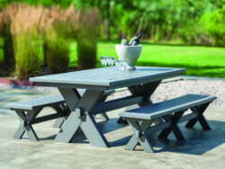"Seaside Casual Sonoma 80"" Gathering Dining Table"