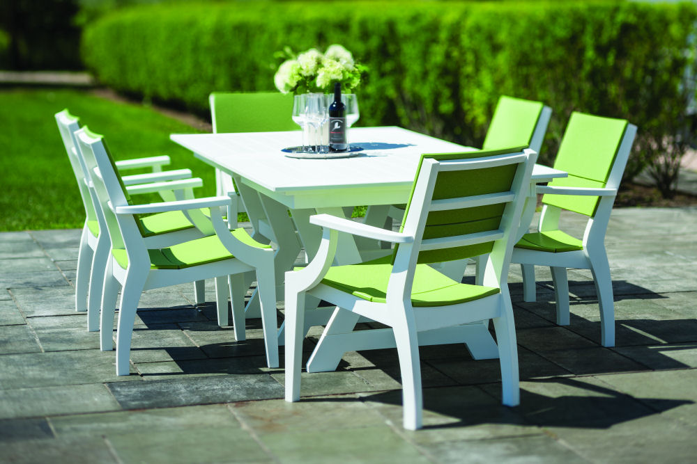 Sym 80 Dining Table On Now At, Seaside Casual Furniture