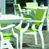 "Seaside Casual SYM 44"" Dining Table"