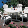 Seaside Casual Shellback Adirondack Dining Chair XX021