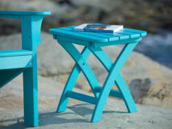 "Coastline Harbor View 18"" Side Table"