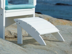 Coastline Harbor View Foot Stool