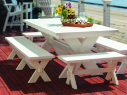 Seaside Casual Sonoma 10 Seat Dining Set SSC-XX075SET