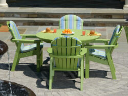 Seaside Casual Salem 4 Seat Dining Set SSC-XX042SET