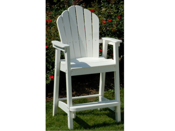 Seaside Casual Classic Adirondack Bar Chair