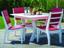 Seaside Casual SYM 4 Seat Dining Set SSC-XX220SET