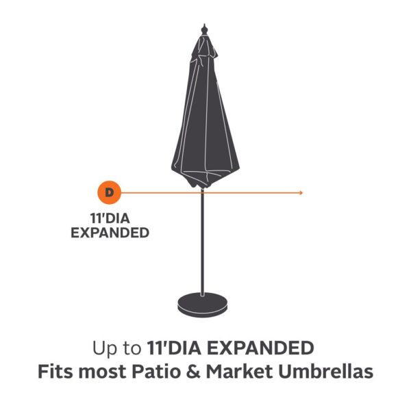 Classic Accessories Ravenna Umbrella Cover CA-55-159-015101-EC