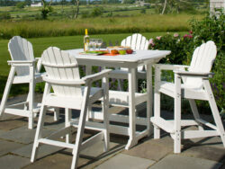 Seaside Casual Portsmouth 4 Seat Balcony Set SSC-XX085SET