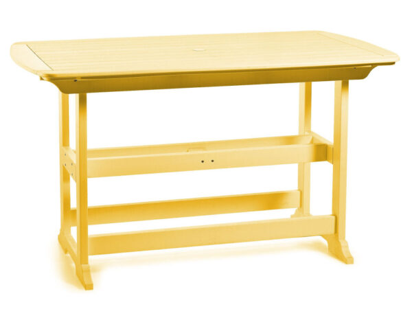 """Seaside Casual Portsmouth 72"""" Balcony Table"""