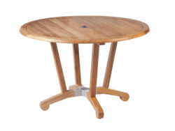 """Barlow Tyrie Chesapeake 45"""" Dining Table BT-2CPC12"""