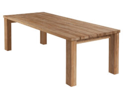 "Barlow Tyrie Titan 94"" Dining Table BT-2TI24 SALE"