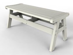 "Malibu Outdoor Living Newport 48"" Backless Bench MO-MNEW-B48"