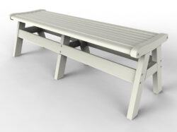 "Malibu Outdoor Living Newport 60"" Backless Bench MO-MNEW-B60"
