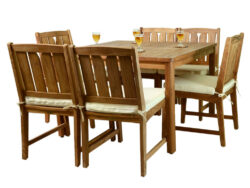 Wood-Joy Kona Dining Table Set B