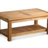 "Douglas Nance Classic 42"" Coffee Table w/Shelf"
