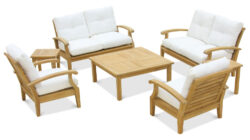 Douglas Nance Cayman 6 Seat Lounge Set