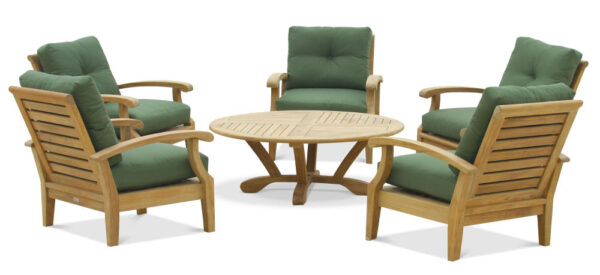 Douglas Nance Cayman 5 Seat Lounge Set