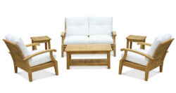 Douglas Nance Cayman Deep Seating 5 Seat Set
